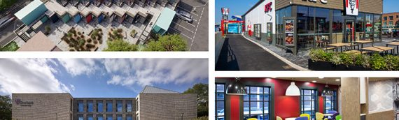 Modular construction projects across the Group